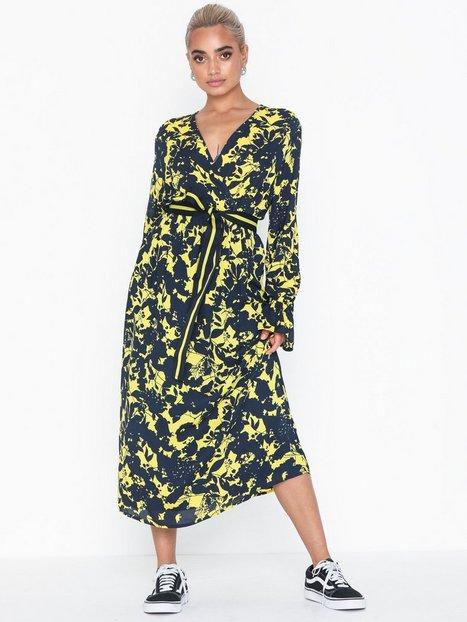 4f81caf207ad Selected Femme Slfdesiree Cecilie Ls Dress Ex Langærmede kjoler