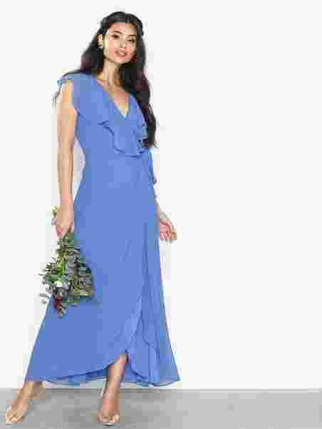 6bb7786b218a Vmvida Sl Ankle Dress Boo - Vero Moda - Blue - Party Dresses ...