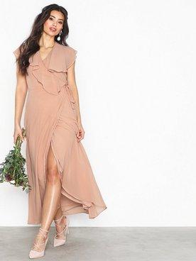 7ebabf03 Vero Moda Vmvida Sl Ankle Dress Boo Maxiklänningar