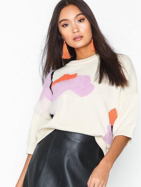 Billede af Selected Femme Slfalba 3/4 Knit O-Neck B Strikkede trøjer