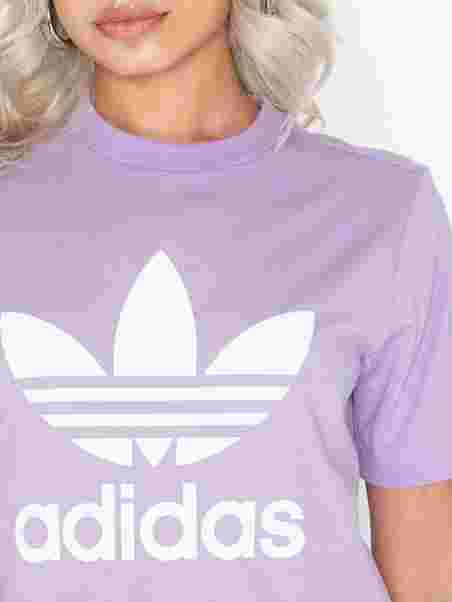 adidas Originals Trefoil Tee soft lavender