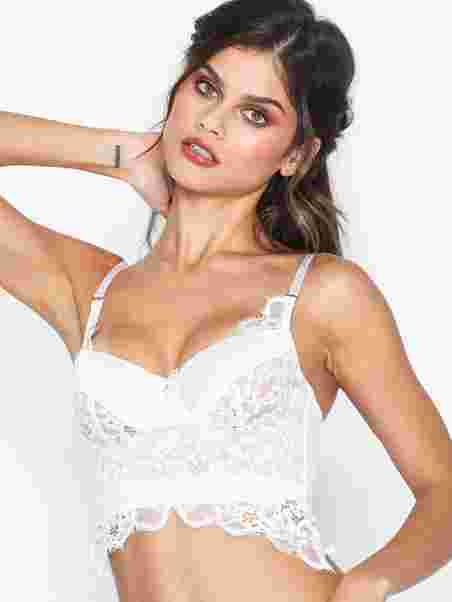 51d51e03957f5 Heather Longline - Hunkemöller - White - Bras   Tops - Underwear ...