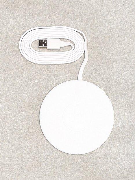 Billede af Holdit Lucca Wireless Charger 10W White Mobiltilbehør