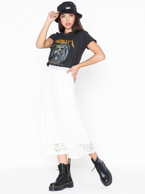 Billede af Pieces Pcbeda Hw Ankle Lace Skirt Midi nederdele