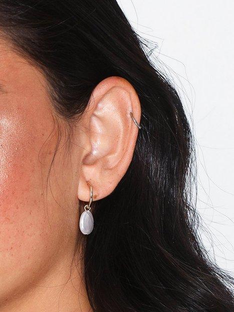 Billede af Pieces Pcalice Hoop Earrings 2-Pack D2D Øreringe