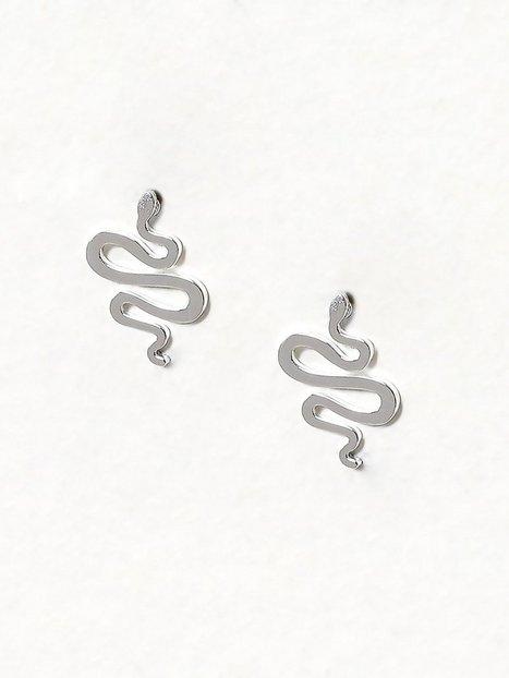 Billede af WOS Snake Stud Earrings Øreringe