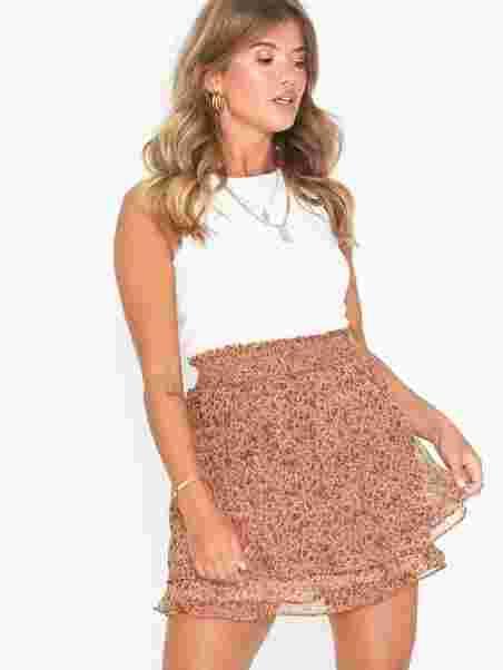 55bc15477fc Elsa Printed Skirt - Neo Noir - India - Skirts - Clothing - Women ...