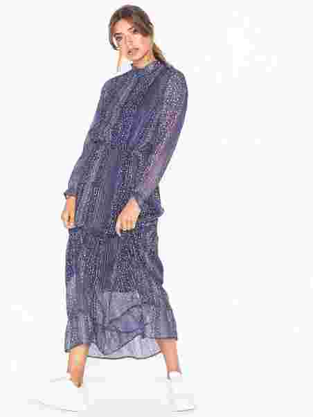 cb61c76b Silo Printed Dress - Neo Noir - Lavender - Dresses - Clothing ...