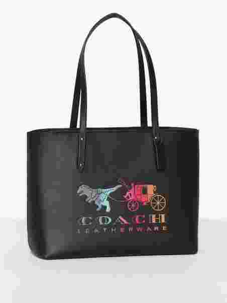 642f3e9c76 Rexy And Carriage Central Tote With Zip - Coach - Black - Bags ...