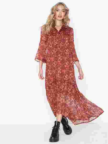 c5e25c52c96b Shoppa Vmliva Chif 3/4 Ankle Dress Wvn Ki - Online Hos Nelly.com