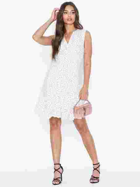 a4cf352aed94 Objclarissa S/L Short Dress 103 - Object Collectors Item - Offwhite ...