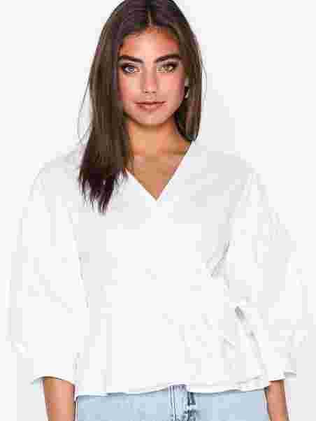 fc3e403a Wrap Poplin Shirt - Co'couture - White - Blouses & Shirts - Clothing ...
