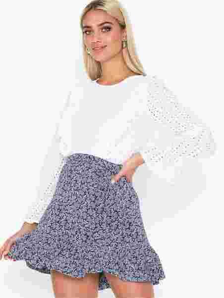 ba68f424 Paint Reef Rfle Skirt - Michael Michael Kors - Navy - Skjørt - Klær ...