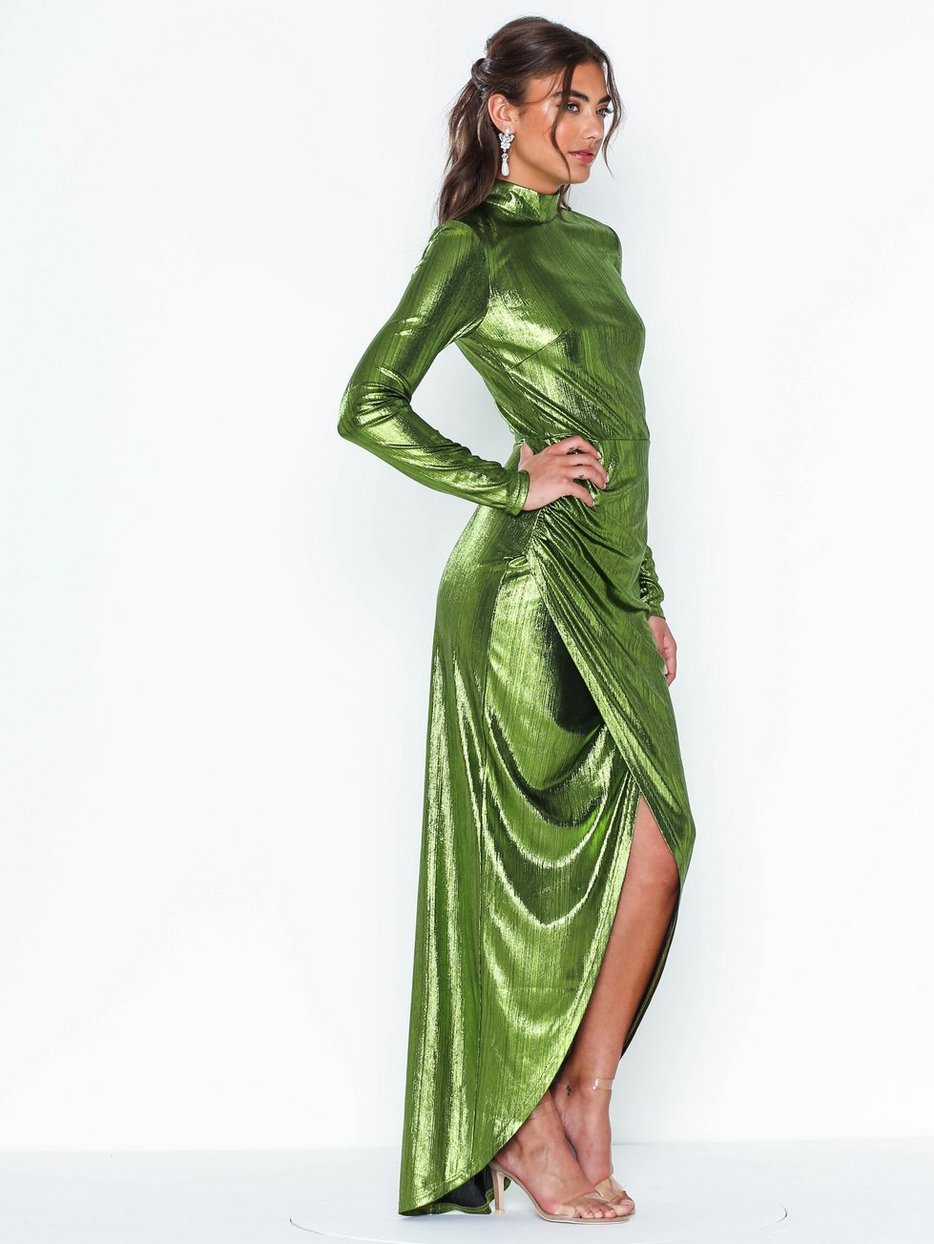 Shimmery Drapy Gown, NLY Eve