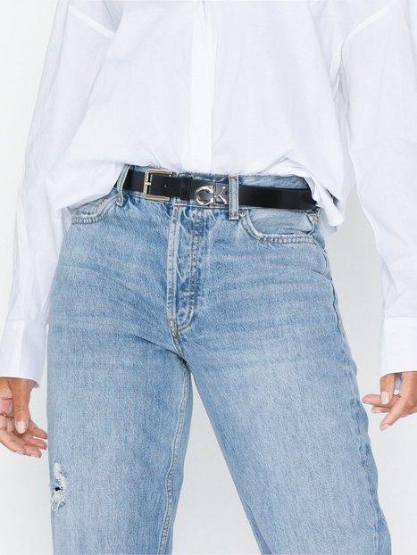 Billede af Calvin Klein Jeans 3CM Low Ck Adj.Buckle Belt Bælter