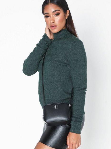 Calvin Klein Ckj Monogram Hw Camera Bag Axelremsväskor