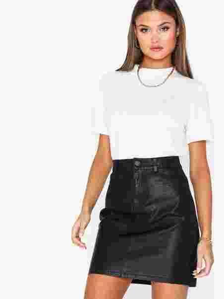 bd22e5da5 Nmbelexi Rebel Skirt Noos - Noisy May - Black - Skirts - Clothing ...