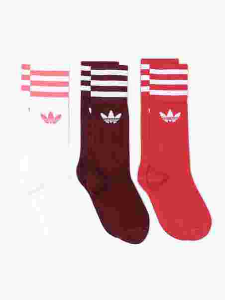 96789a0c1 Solid Crew Sock - Adidas Originals - Burgundy - Socks - Underwear ...
