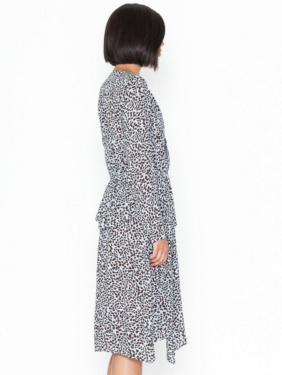 mönstrad klänning co& 39