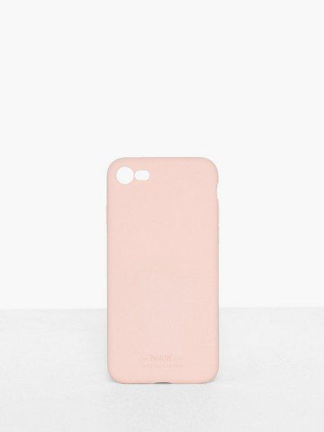 Holdit Silicone Case iPhone 7/8 Mobilskal Rosa