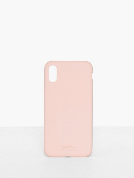 Holdit Silicone Case iPhone X/Xs Mobilskal Rosa