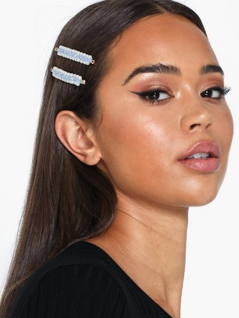 Billede af Vero Moda Vmpeela Pearl Hairpin 2-Pack Håraccessories Blå