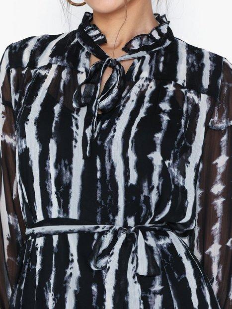 Only Onlriana LS Maxi Dress Wvn Maxikjoler