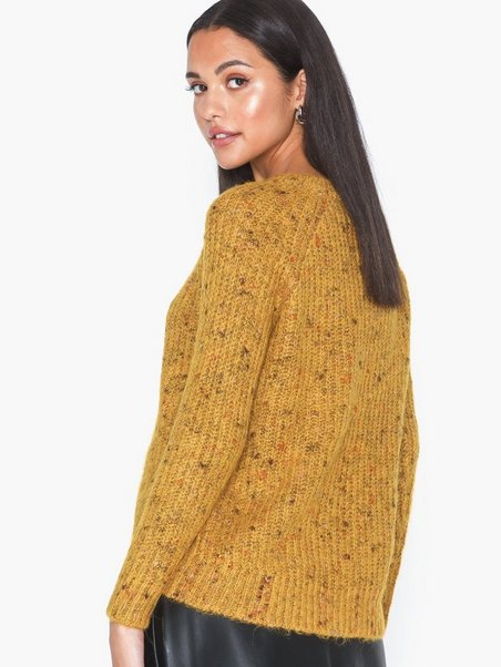 ONLY Damen Onqisa L//S O-Neck Wool KNT Pullover