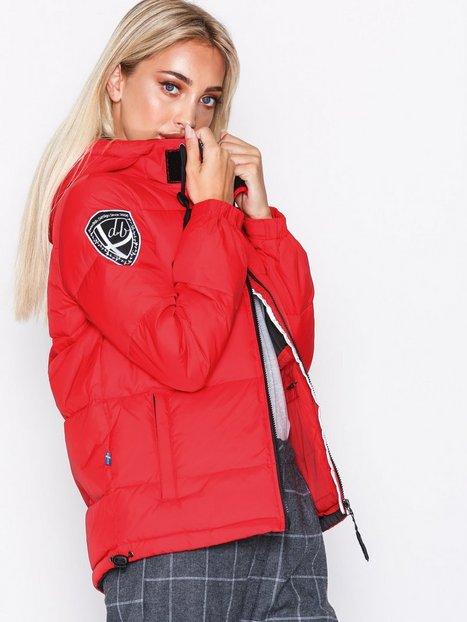 Billede af D Brand Eskimå Down Jacket Dunjakker Rød