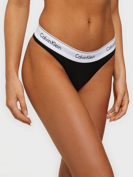 Billede af Calvin Klein Underwear Modern Cotton Thong G-streng Sort