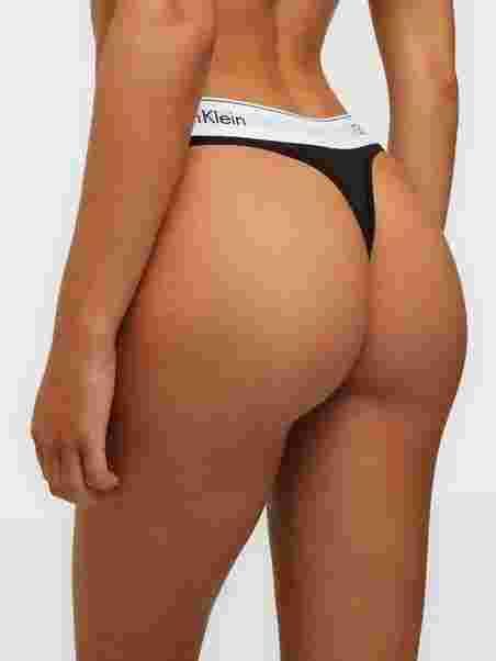 048b039a581b Modern Cotton Thong - Calvin Klein Underwear - Black - Briefs ...