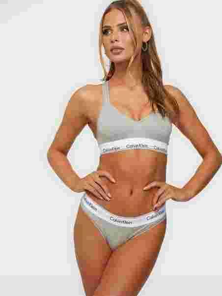 c7afddeb412c Modern Cotton Thong - Calvin Klein Underwear - Ash - Briefs ...