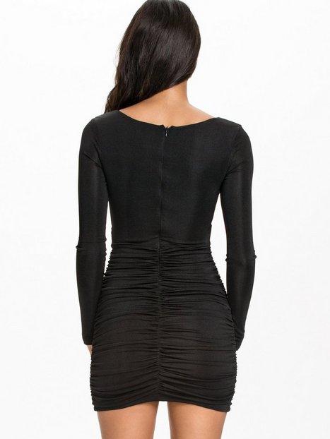 Wrap Slinky Dress