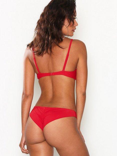Billede af NLY Beach Brazilian Bikini Panty Trusser Rød