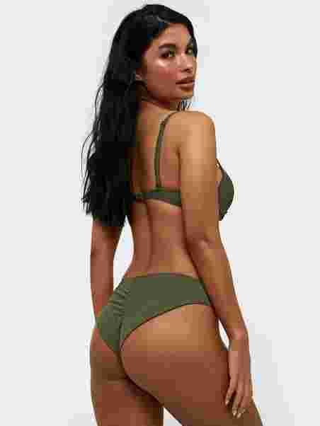 5a5f06a4dd Brazilian Bikini Panty - Nly Beach - Green - Bikinis - Swimwear ...