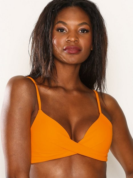 Billede af NLY Beach Mix&Match Push Up Bra Bikinier Orange