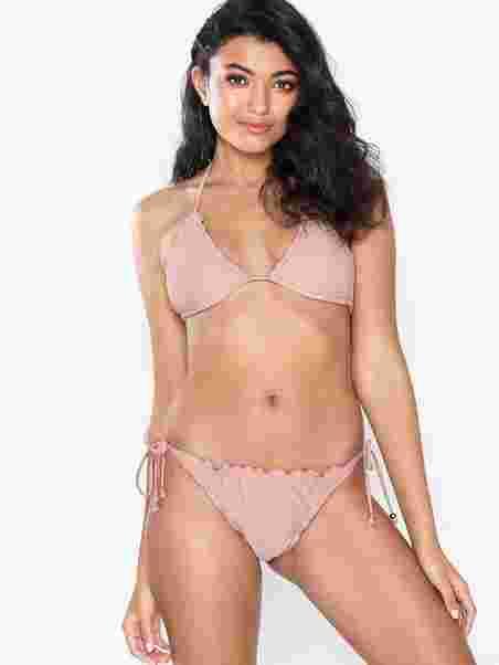 1bf8d7756b66 Ruffle Brazilian Panty - Nly Beach - Dusty Pink - Bikinis - Swimwear ...