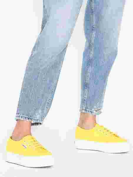 3c10d5e8 2790 Acotw - Superga - Gul - Sneakers - Sko - Kvinde - Nelly.com