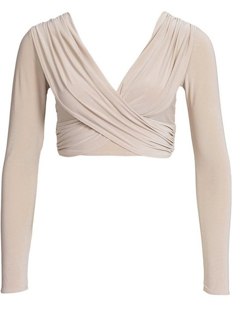 Cross Over Ruched Top