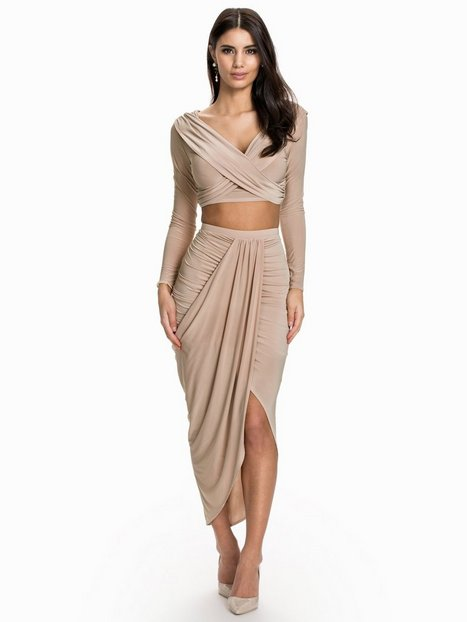 Draped Ruched Skirt