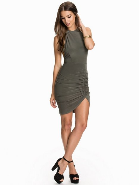 Ruched Thigh Dress