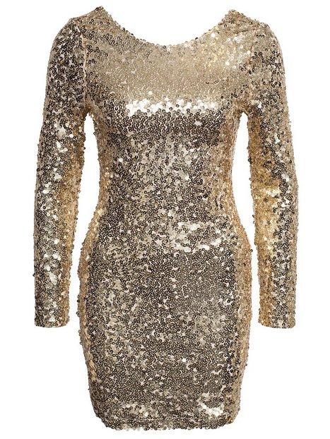 Scoop Back Sequin Dress