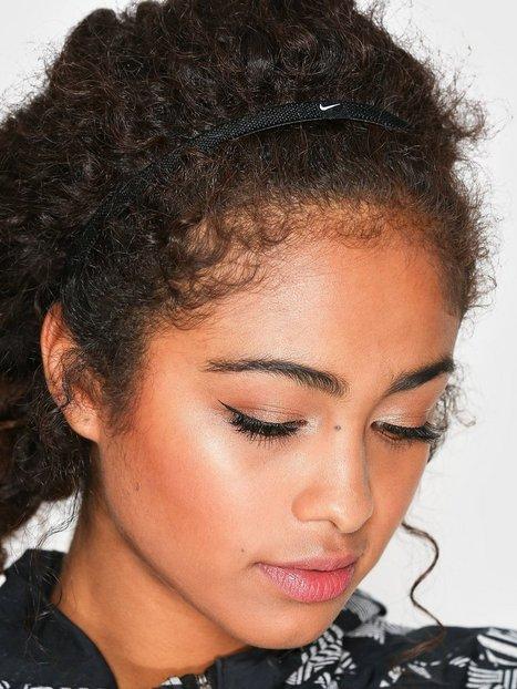 Billede af Nike Elastic Hairband 3-P Pandebånd & Armbånd Hvid/Sort