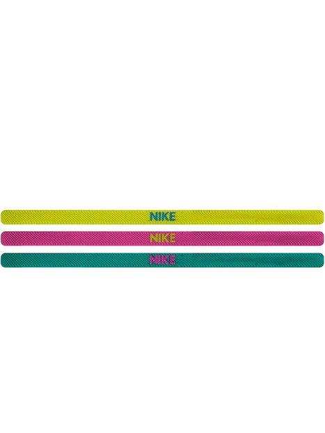 Billede af Nike Elastic Hairband 3-P Træningsaccessories Grøn