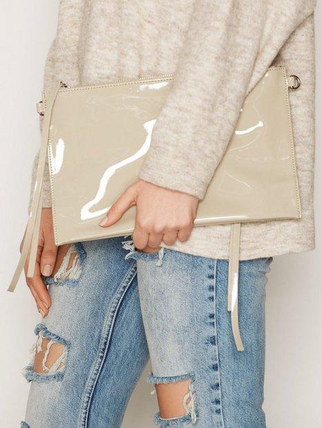 Billede af BACK Zip Bag Patent Håndtaske Khaki