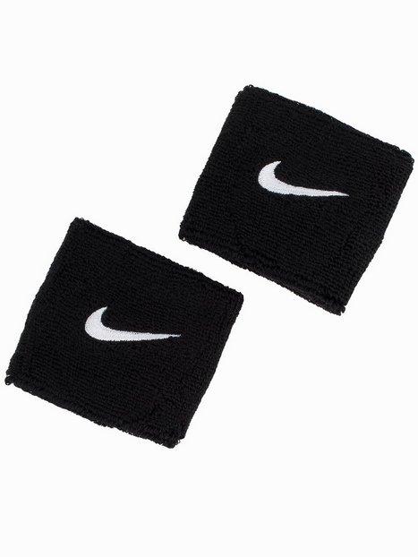 Billede af Nike Swoosh Wristband Træningsaccessories Sort / Hvid