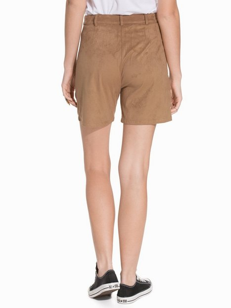 Soaked in Luxury Scilia Shorts Shorts Cognac thumbnail