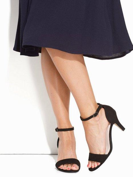 Billede af Bianco Low Basic Sandal Heels Sort