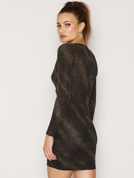 Wrap Lurex Dress