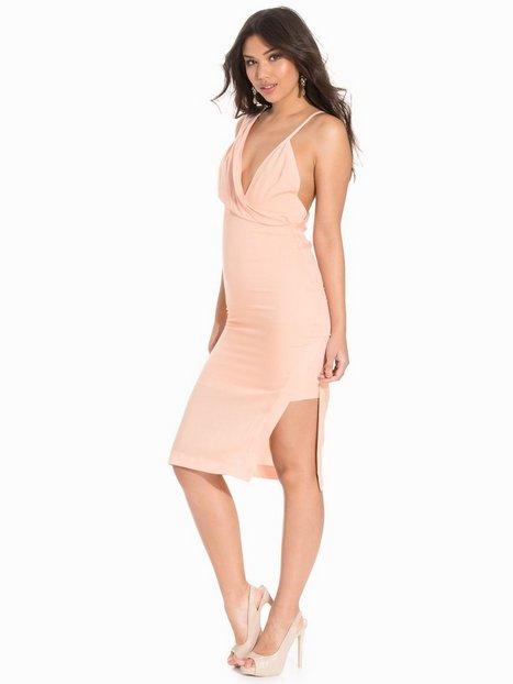 Billede af AQ/AQ Women Intia Midi Dress Kropsnære kjoler Pink